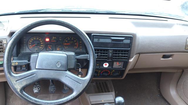 Poignee interieur arriere droit renault r19 phase 1 essence for Renault 9 interieur