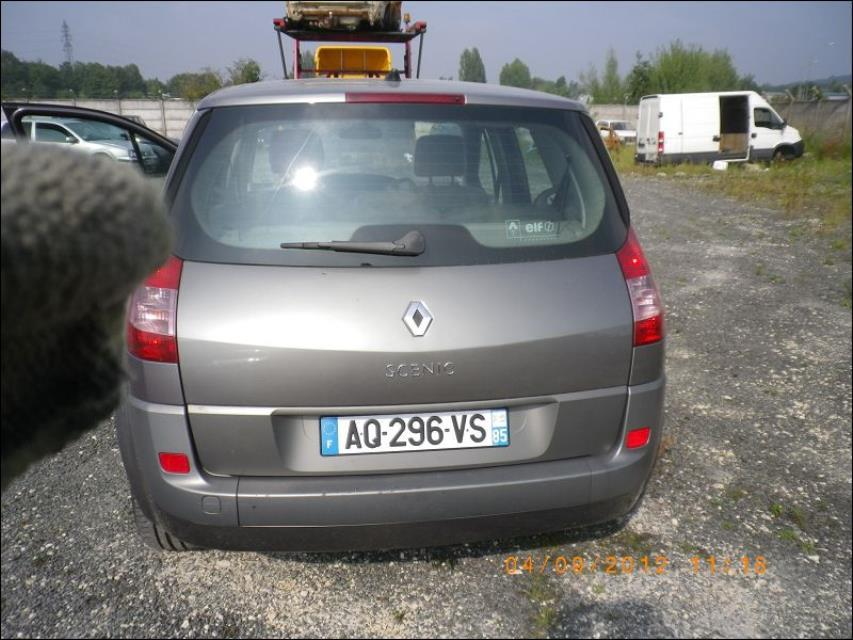 amortisseur arriere droit renault scenic 2 ph 1 1 9 dci 120 8v diesel. Black Bedroom Furniture Sets. Home Design Ideas