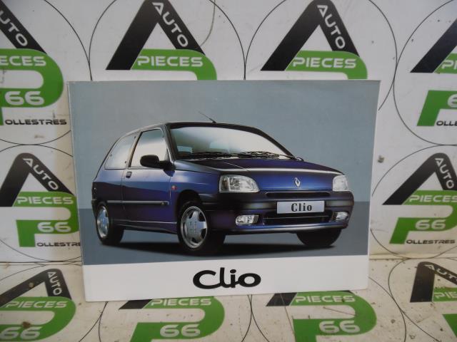 Livret RENAULT CLIO I PHASE 3