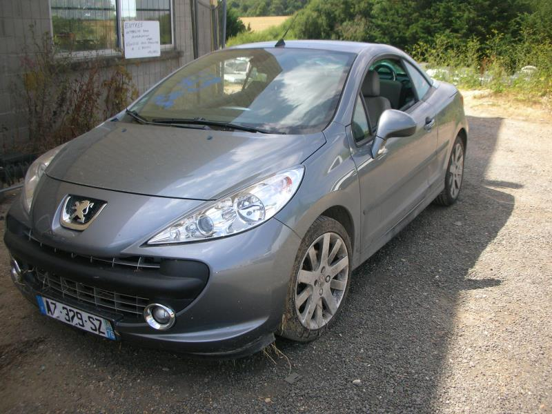 toit ouvrant peugeot 207 cc phase 1 diesel. Black Bedroom Furniture Sets. Home Design Ideas