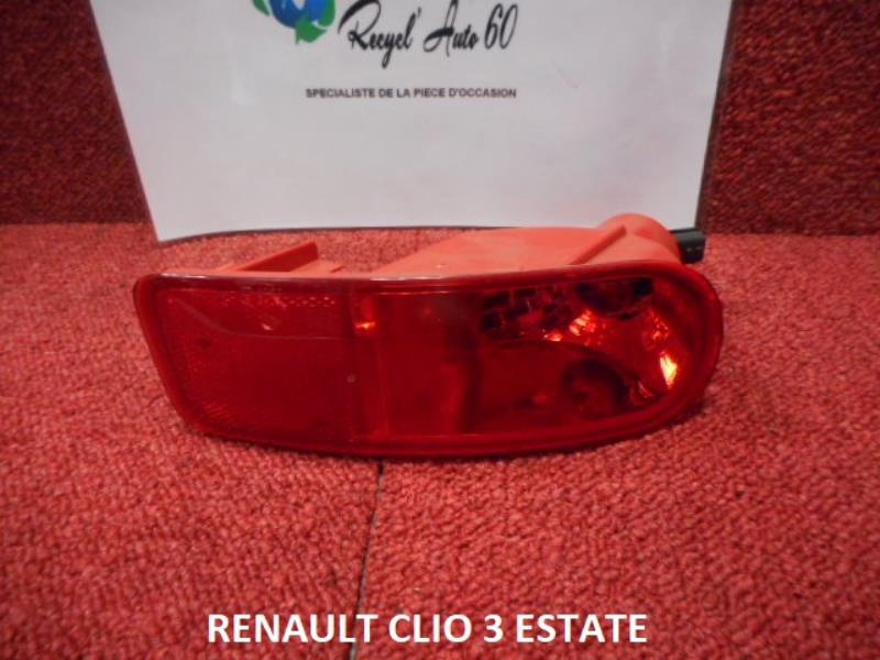 Feu Arriere Principal Gauche Feux Renault Clio Iii Estate Phase 1