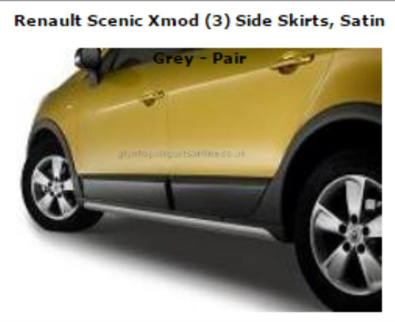bas de caisse droit renault scenic iii xmod. Black Bedroom Furniture Sets. Home Design Ideas