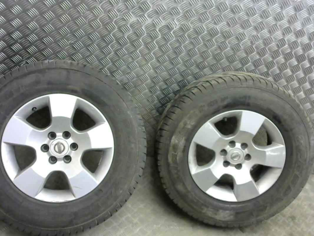 roues occasion nissan navara double cabine
