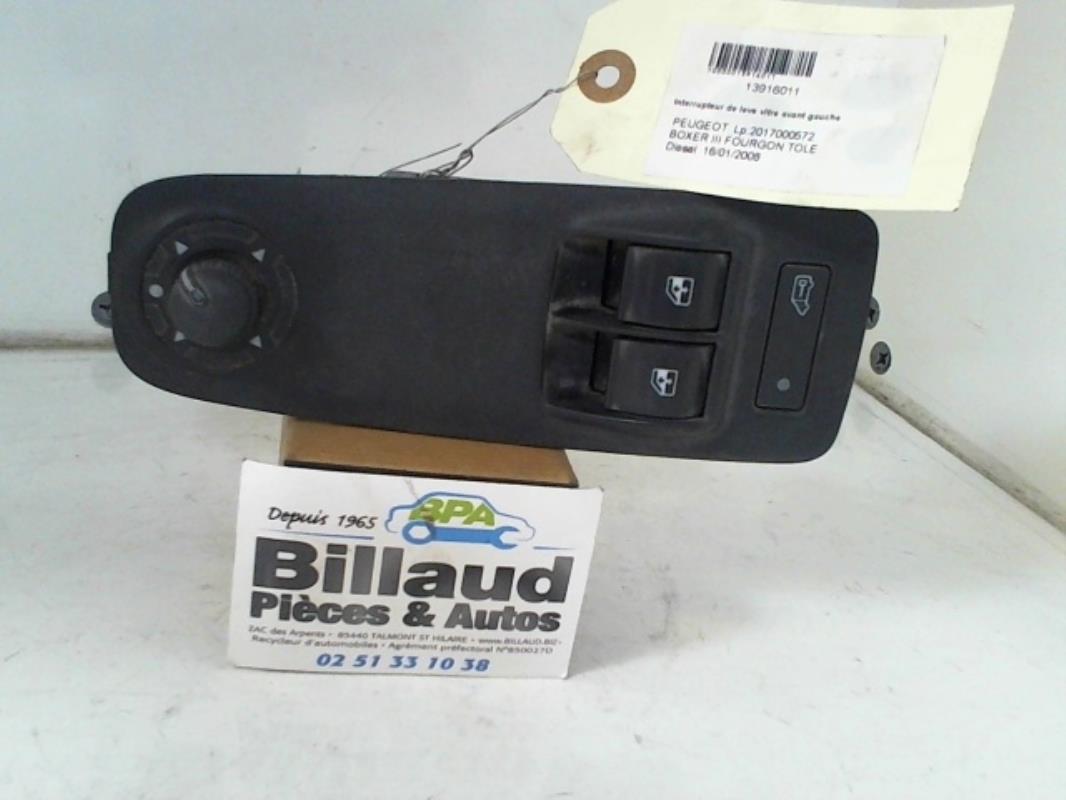 interrupteur de leve vitre avant gauche peugeot boxer iii fourgon tole diesel. Black Bedroom Furniture Sets. Home Design Ideas
