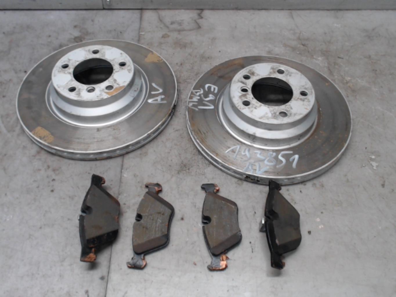 Paire de disques avant (freinage) BMW SERIE 3 E91 TOURING PHASE 1 BREAK Diesel