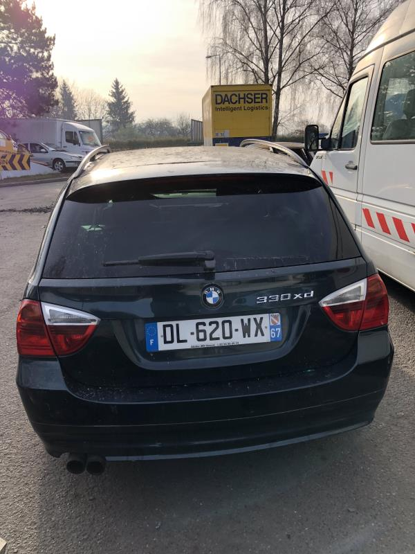 Paire de disques arriere (freinage) BMW SERIE 3 E91 TOURING PHASE 1 BREAK Diesel