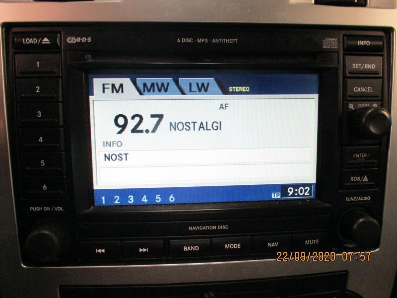 GPS CHRYSLER 300C PHASE 1 Diesel