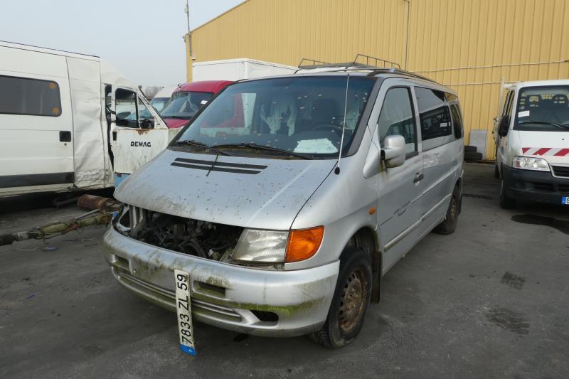 Ressort de suspension arriere gauche MERCEDES VITO 638 Diesel