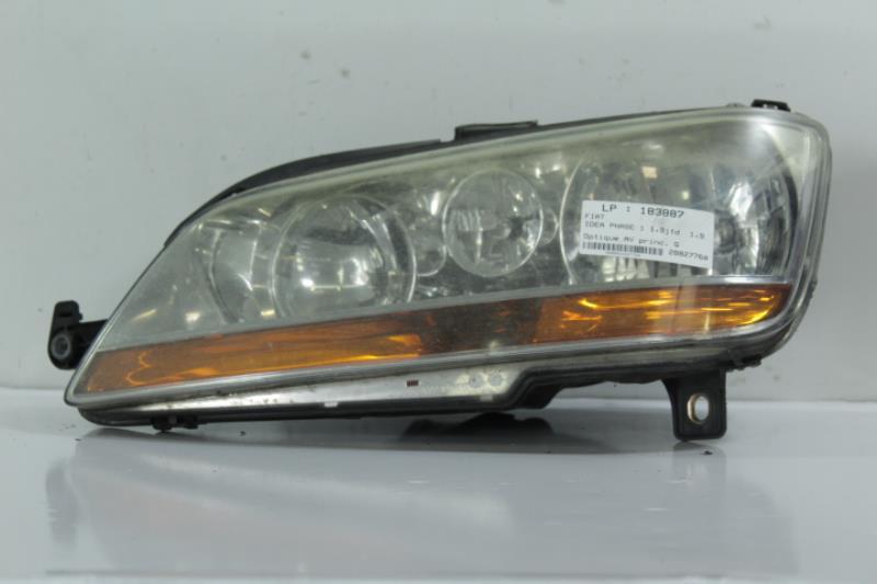 Optique avant principal gauche (feux)(phare) FIAT IDEA PHASE 1 Diesel