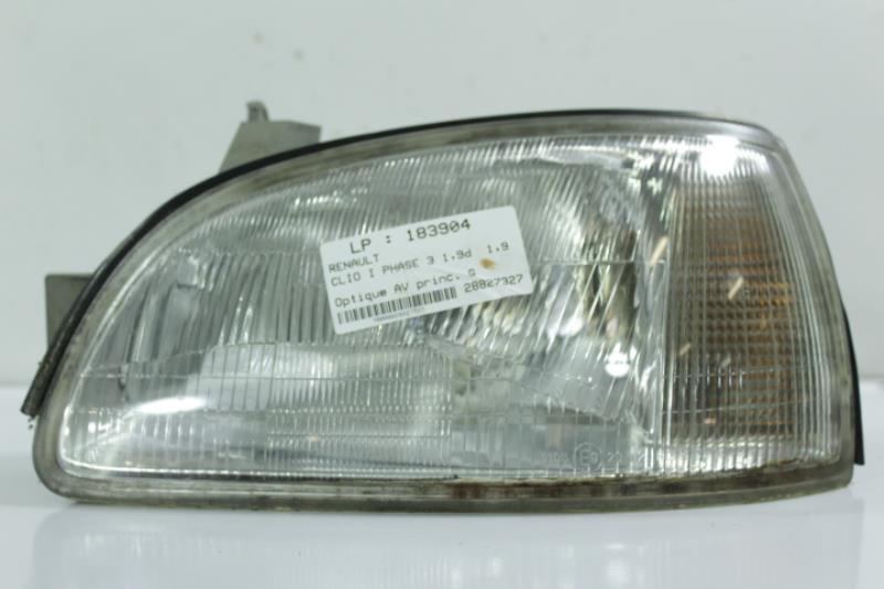 Optique avant principal gauche (feux)(phare) RENAULT CLIO I PHASE 3 Diesel
