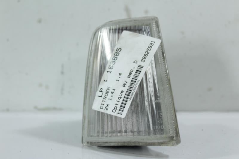 Optique avant secondaire droit (feux)(clignotant) CITROEN ZX Essence