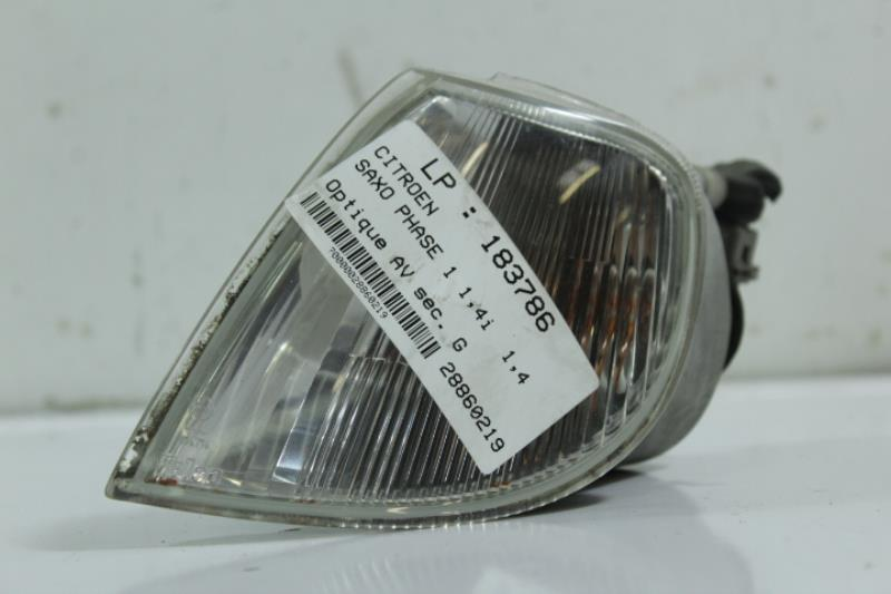 Optique avant secondaire gauche (feux)(clignotant) CITROEN SAXO PHASE 1 Essence