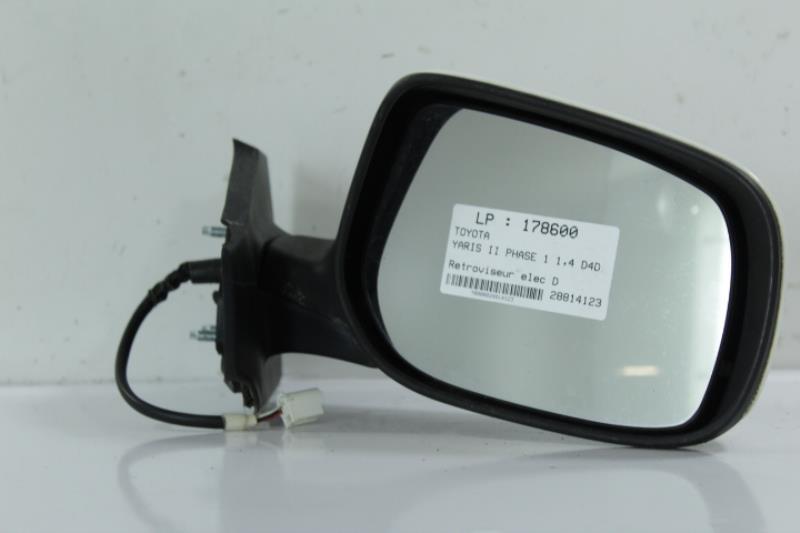 Retroviseur electrique droit TOYOTA YARIS II PHASE 1 Diesel