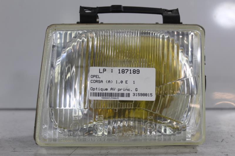 Optique avant principal gauche (feux)(phare) OPEL CORSA (A) Essence