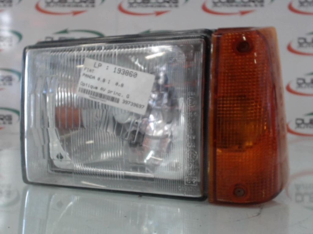 Optique avant principal gauche (feux)(phare) FIAT PANDA 1 PHASE 2 Essence