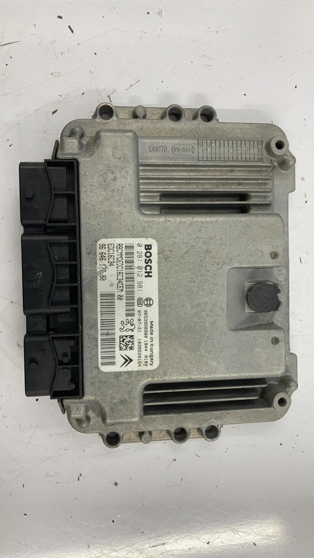 Calculateur CITROEN C4 PICASSO 1 Diesel