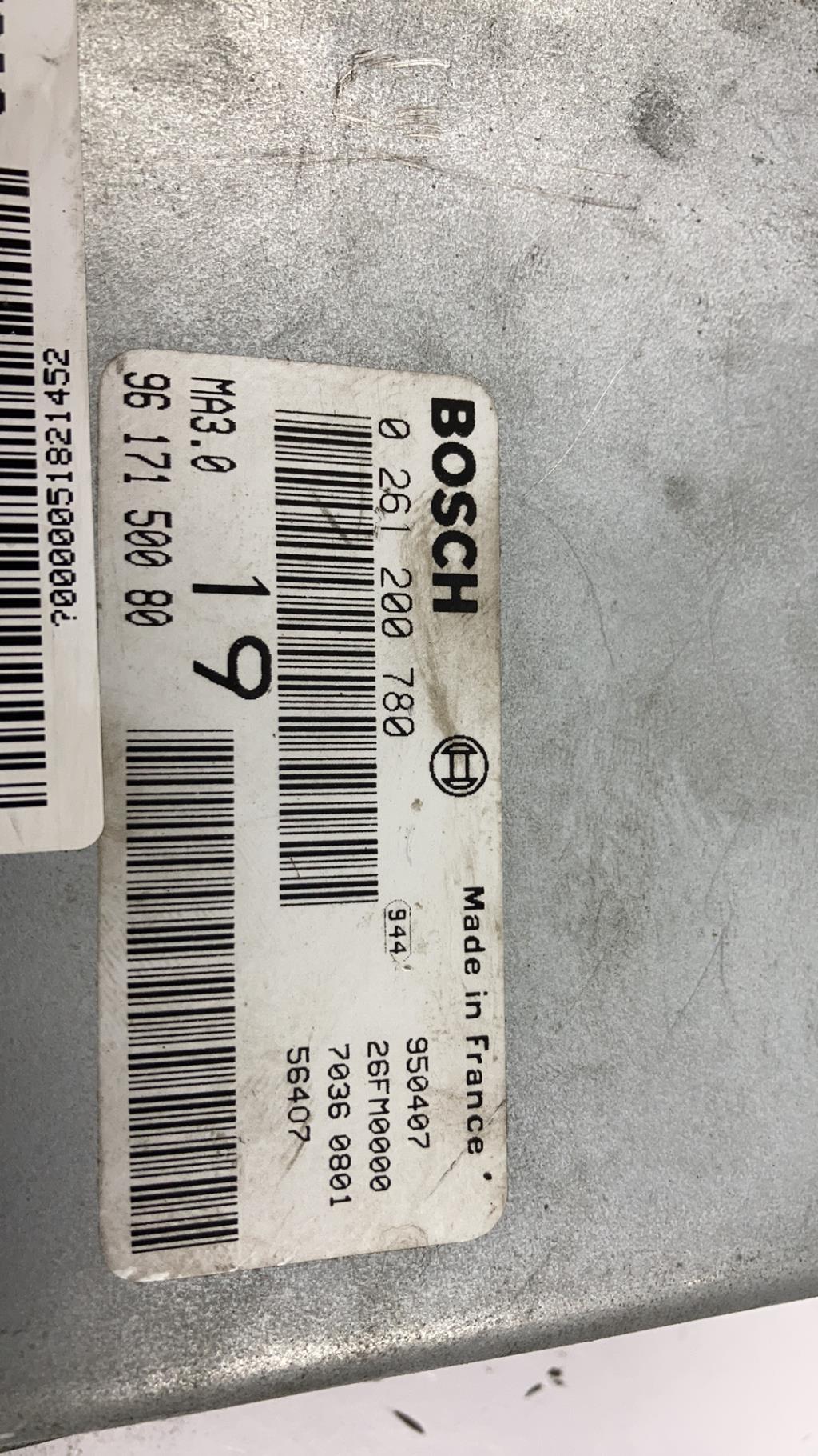 Calculateur PEUGEOT 106 PHASE 1 Essence