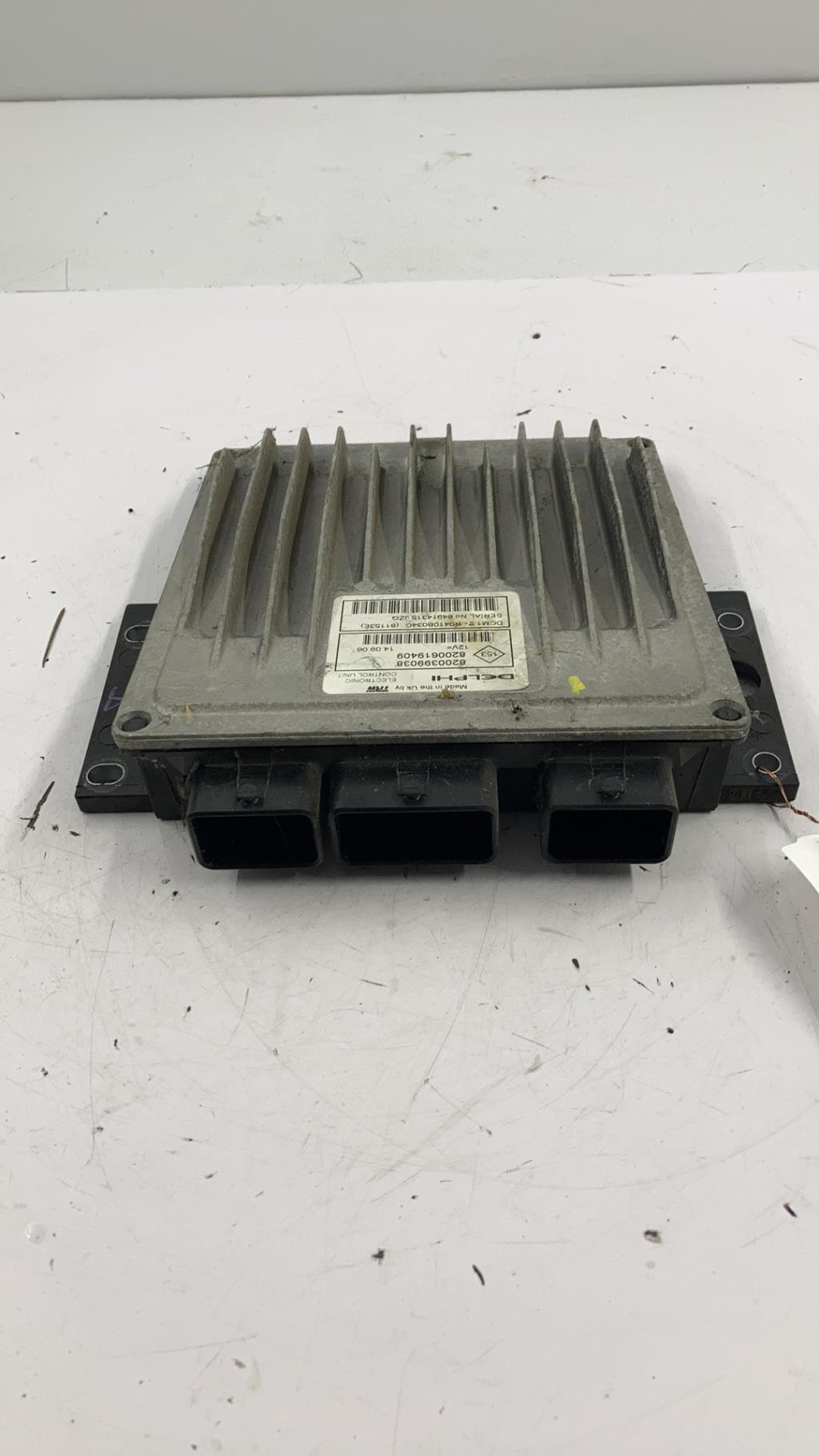 Calculateur RENAULT CLIO 3 PHASE 1 Diesel