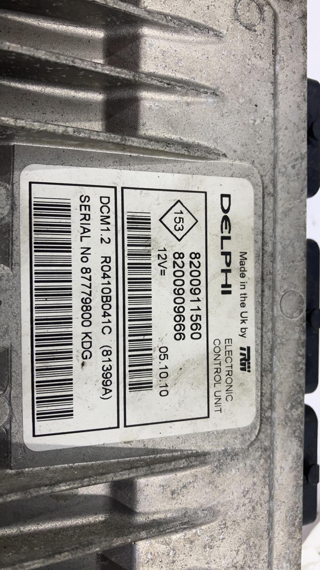 Calculateur RENAULT CLIO 3 PHASE 2 Diesel