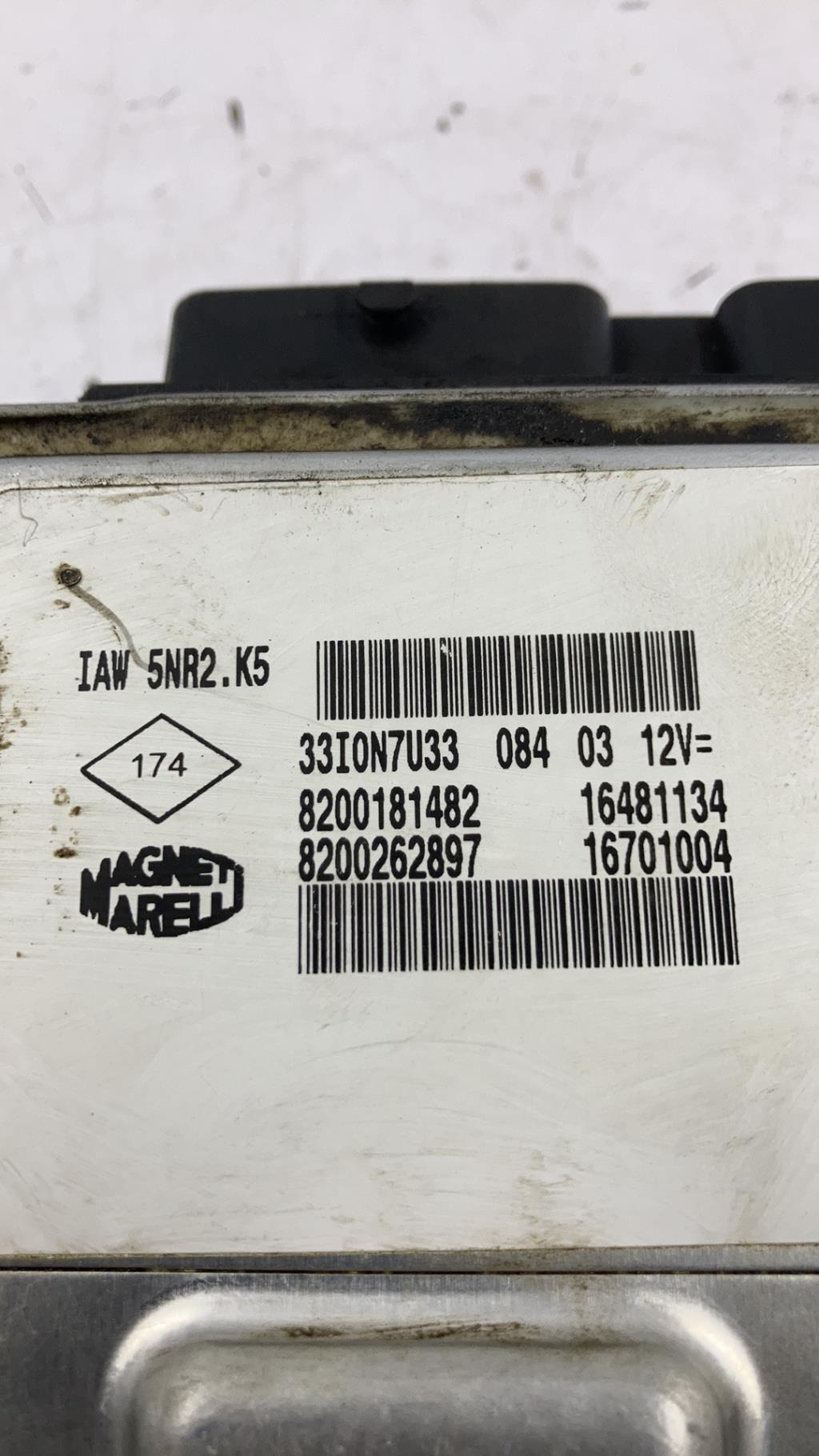 Calculateur RENAULT KANGOO 1 PHASE 2