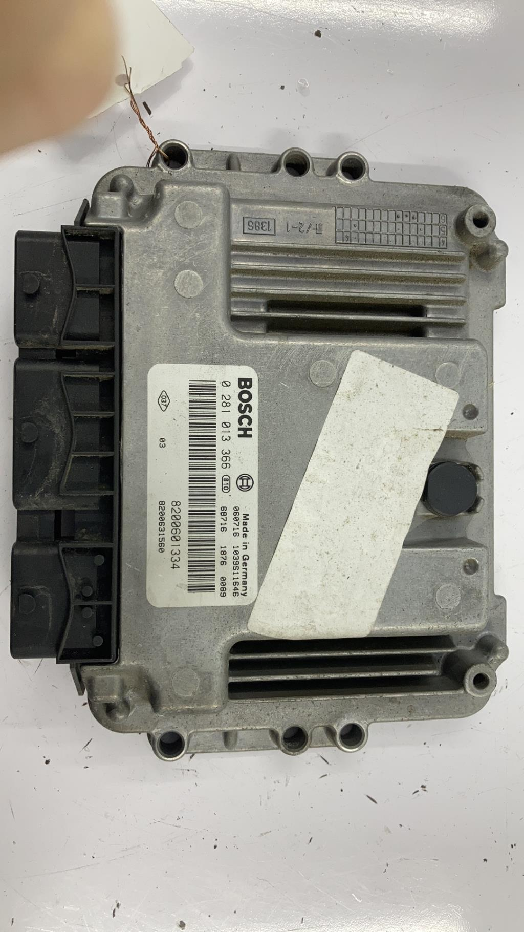 Calculateur RENAULT MEGANE 2 PHASE 2 CABRIOLET Diesel