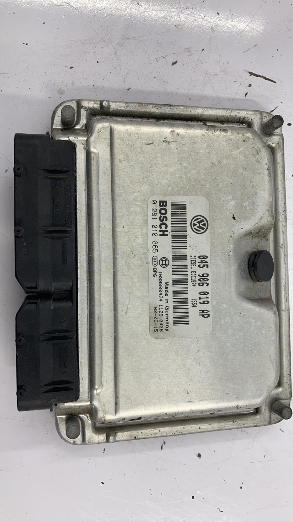 Calculateur VOLKSWAGEN POLO 4 PHASE 1 Diesel