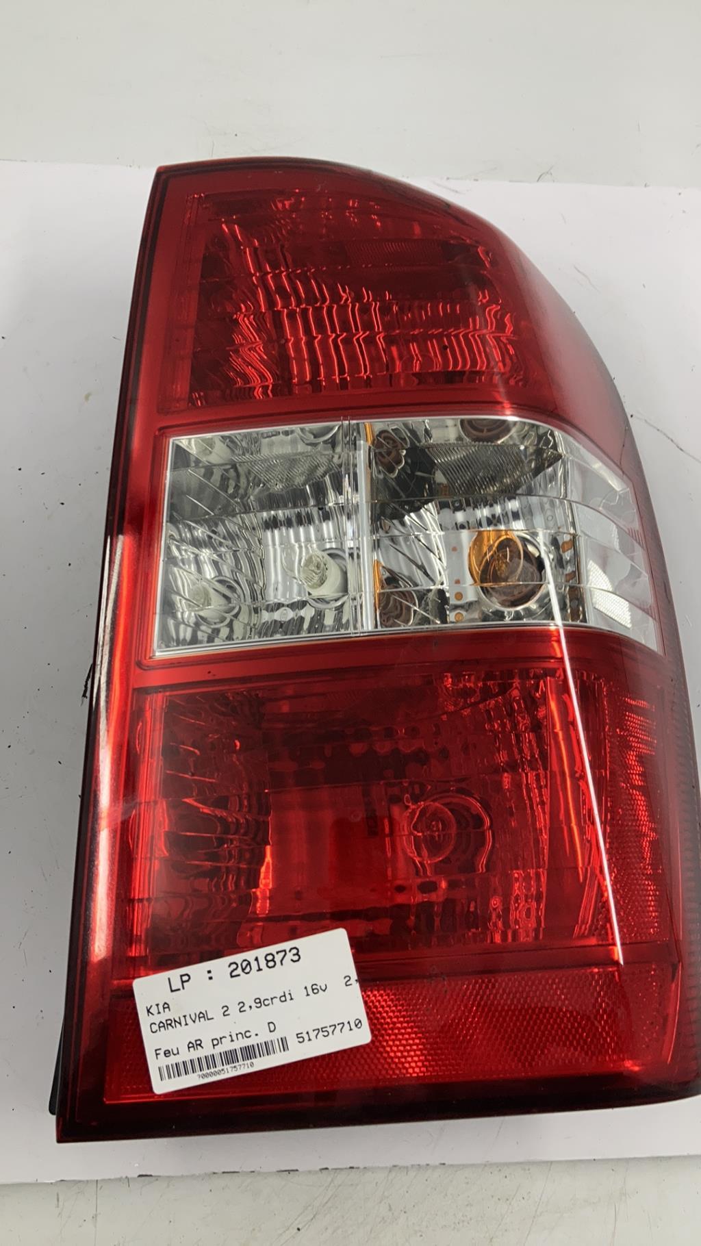 Feu arriere principal droit (feux) KIA CARNIVAL 2 Diesel