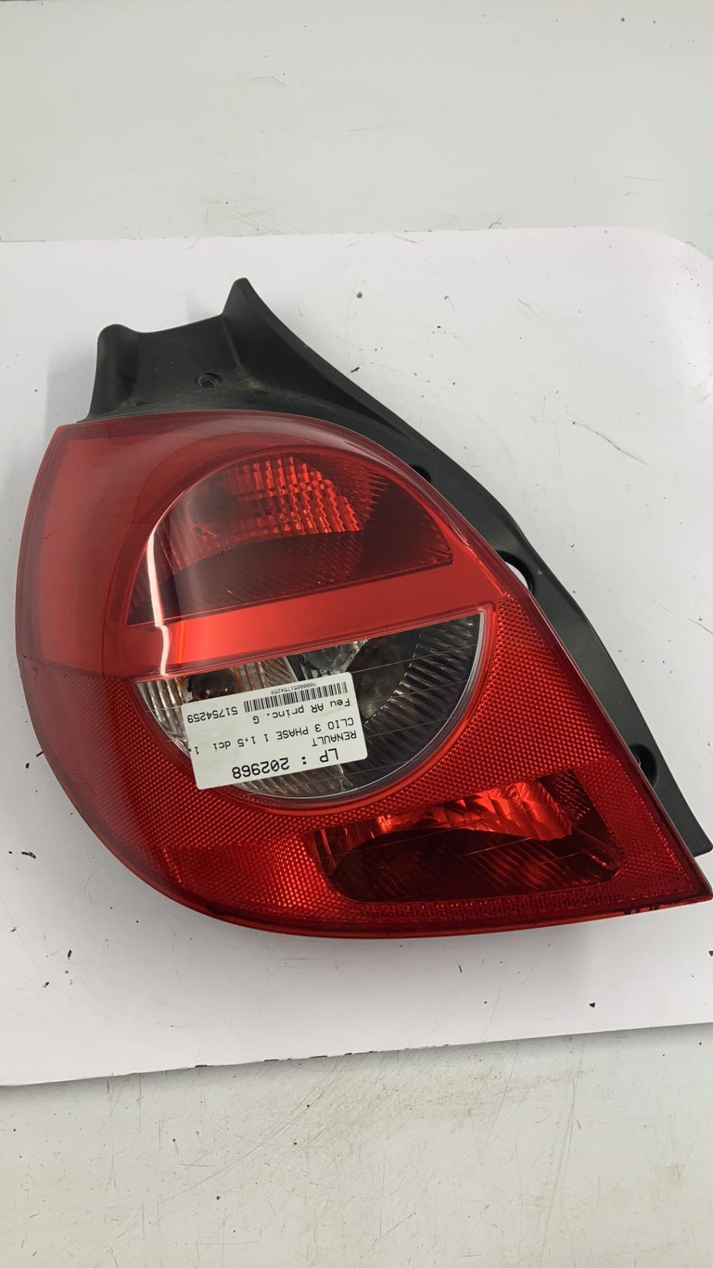 Feu arriere principal gauche (feux) RENAULT CLIO 3 PHASE 1 Diesel