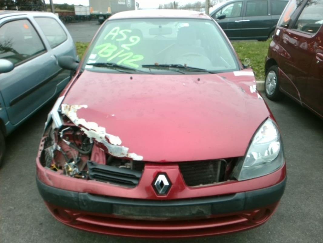 Pare Choc Arriere Renault Clio Ii Phase 3 Essence