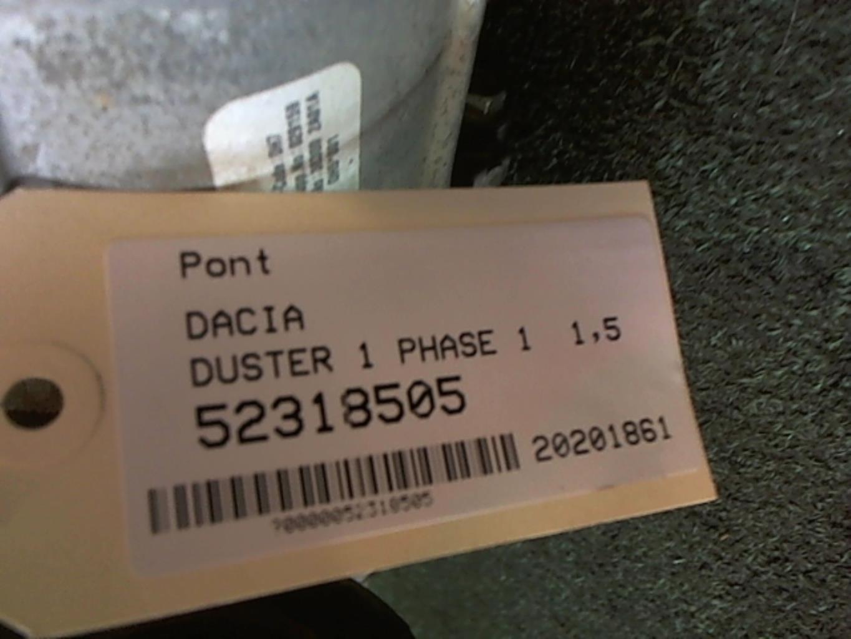 Image Pont (propulsion) - DACIA DUSTER 1