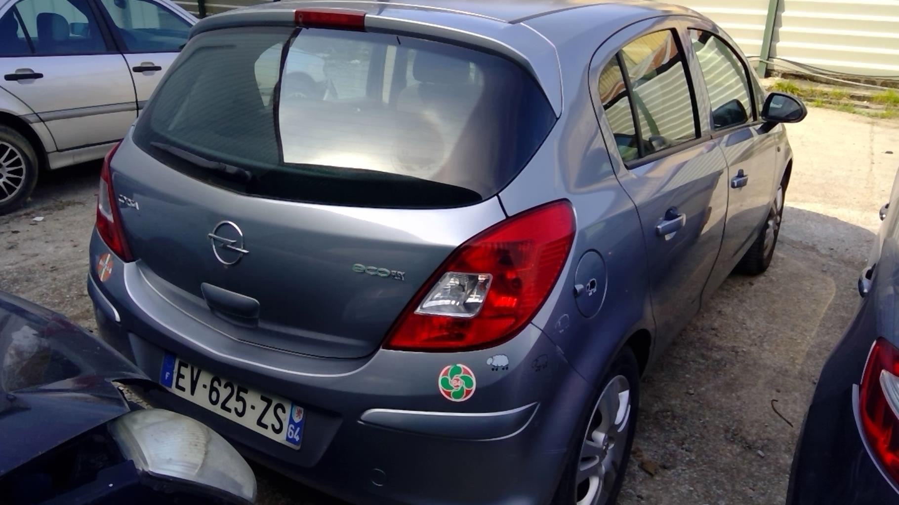 Image Malle/Hayon arriere - OPEL CORSA D