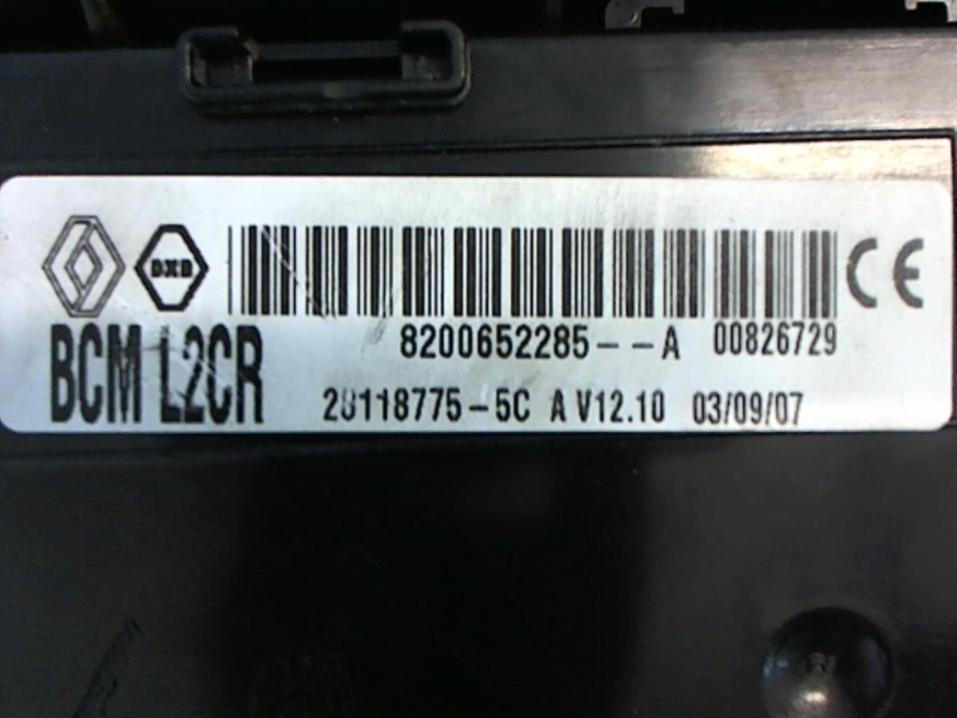 Image Boitier UCH - RENAULT CLIO 3