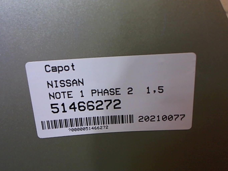 Image Capot - NISSAN NOTE 1