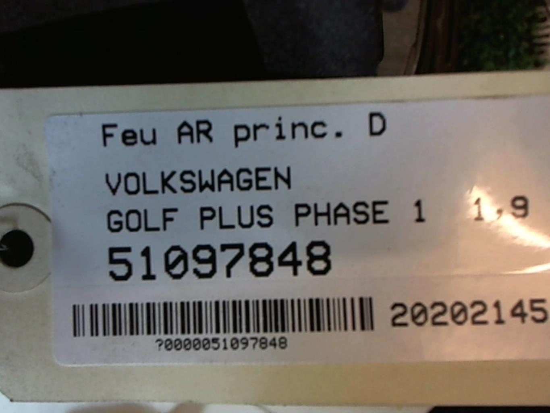 Image Feu arriere principal droit (feux) - VOLKSWAGEN GOLF PLUS
