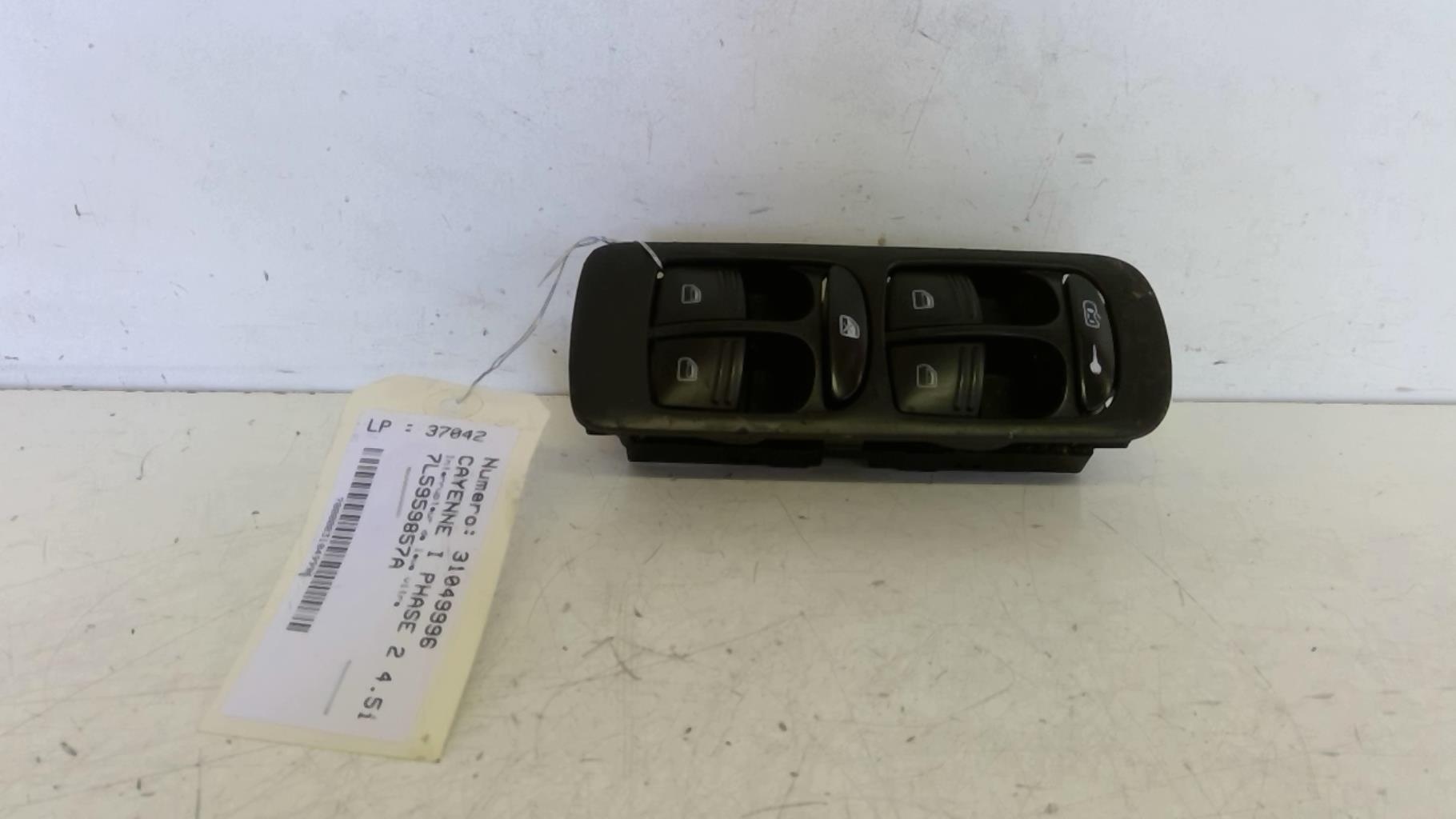 Interrupteur de leve vitre (Bloc complet) PORSCHE CAYENNE I PHASE 2 Essence