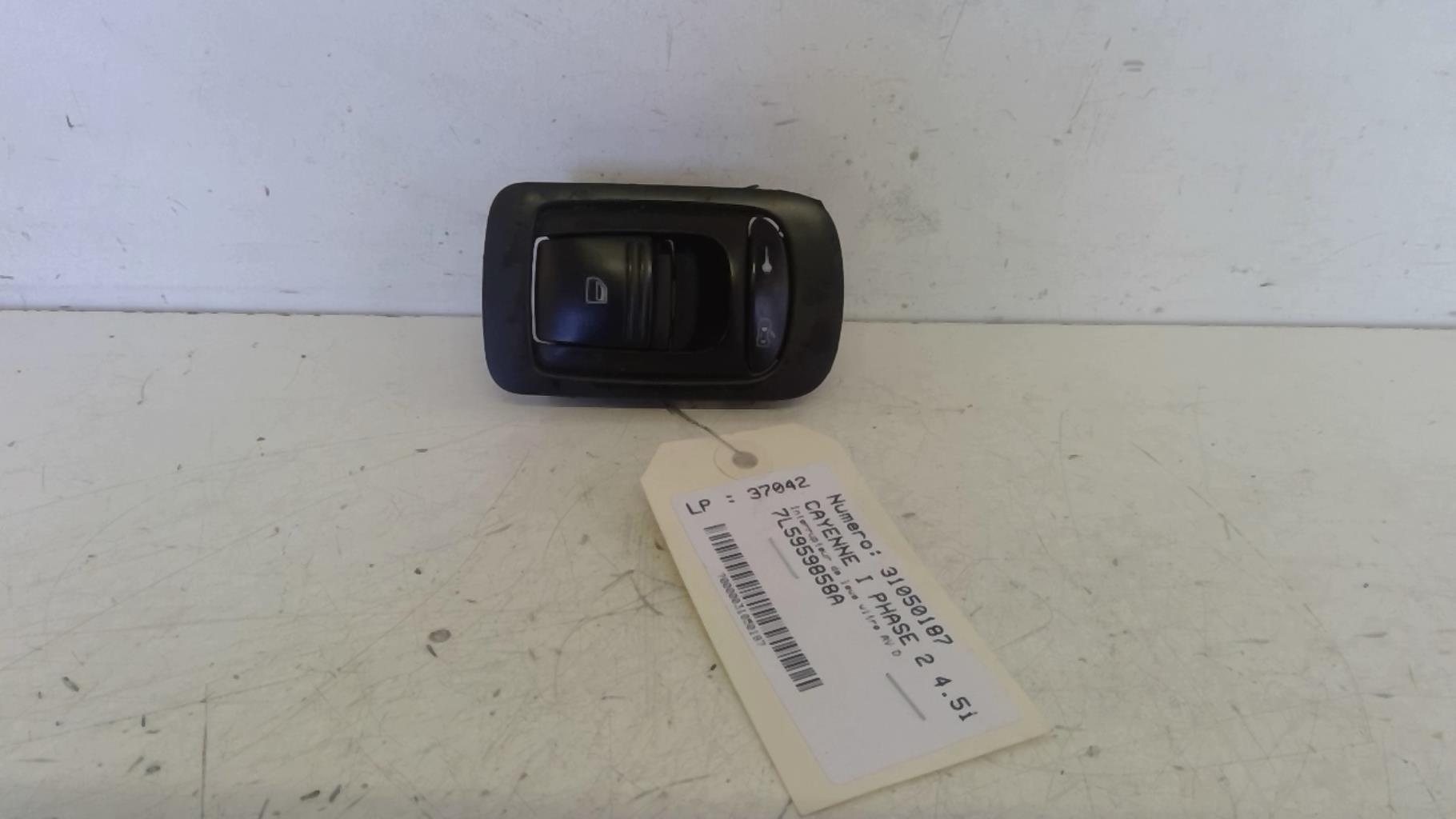 Interrupteur de leve vitre avant droit PORSCHE CAYENNE I PHASE 2 Essence