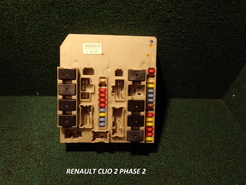 Porte Fusible Renault Clio Iii Phase 2