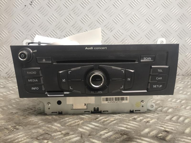 Autoradio d'origine AUDI A4 B7 III Ph1 (Jan 04) BREAK TDI Diesel